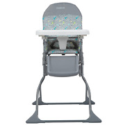 Baby High Chair Toddler Feeding Seat Adjustable Tray Portable Folding Safety New