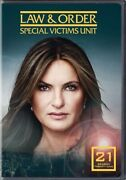 Allied Vaughn Du26530d Mod-law And Order-special Victims Unit-season 21 4 Dvd/...