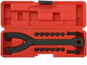 Cylinder Spanner Wrench Set - 15pc Pin Spanner Wrench And Variable Pins 1/2 Inch