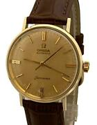 Vintage Omega Seamaster Gold Filled Automatic 34mm 1961 Original Dial Watch