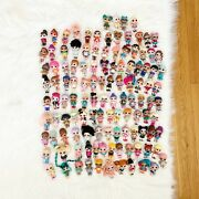 Huge Lol Surprise Doll Lot Of 150+ Dolls, Little Sisters And Accessories Glitter