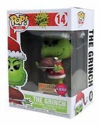 Funko Pop 14 Dr. Seuss Flocked Box Lunch Exclusive W/ Pop Protector