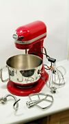 Kitchenaid Professional 600 Mixer With Bowl Whip And Beater Etc 6 Qt Quart