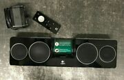 Logitech Pure-fi Anywhere 2 Bluetooth Speakers Ipod Iphone Remote, Case, Charger