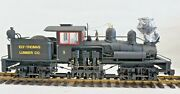 Bachmann Ely Thomas Lumber Co.2-truck Shay Sound And Revolution G Scale Repair
