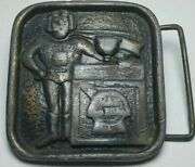1970and039s Pabst Blue Ribbon Indiana Metal Company Belt Buckle Pbr
