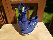 Nice Nike Solarsoft Moccasin Beach Water Running Shoes Blue 555301-403 Mens 12