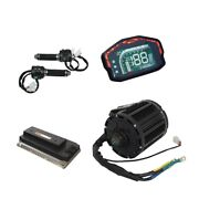 Qs Kit 7500w Qs138 90h Mid Drive Motor And Em200p Controller Electric Motorcycle