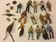 Cowboys-cowgirls Vintage Hats-cloth- Unusual-and Strange Western Toy Group
