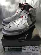 Signed Air Jordan Spizikes Spike Lee Size 10.5 Ds