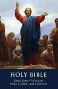 The Holy Bible King James Version, Pure Cambridge Edition By Unknown New