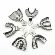 Dental Autoclavable Impression Trays Stainless Steel Upper Lower Mky