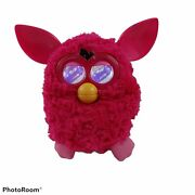 2012 Hasbro Furby Interactive Pet Toy Electronic Hot Pink Tested Works Euc
