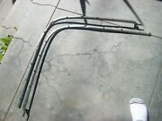 1958 Chevrolet Impala Convertible Boot Snap Stainless Pair