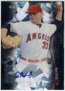 Sean Newcomb 2014 Bowman Sterling Black Atomic Refractor Autograph 1/10 Auto 1/1