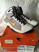 Nike 2008 Hyperdunk Supreme Kobe And039lakers Homeand039 Og Size 11 Ds