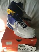 Nike Kobe 2009 Zoom Iv 4 Andlsquolakers Home Gradientandrsquo Og Size 11 Ds