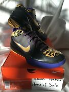 Nike Kobe 2009 Zoom Iv 4 And039mvp Pop Finals Awayand039 Size 9 Ds