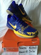 Nike Kobe 2010 Zoom V 5 And039lakers Mvpand039 Size 11 Ds