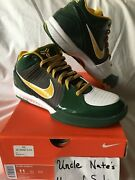 Nike Kobe 2009 Zoom Iv 4 And039rice Homeand039 Size 11 Ds