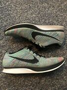 Nike Flyknit Racer Multi Color 2.0 Running Shoes 526628-304 Menand039s Size 12.5