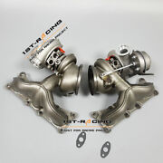 Upgraded Td04 16t State 2 Twin Turbos For Bmw 135i 335i 535i 3.0l N54 650hp
