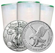 20 -2021 1 Oz. Type-2 Silver Eagle Coins First Strike Pre-sale Mint Coin
