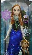Barbie Collector Anna Frozen Singing 16 Supersize Disney Store Special Edition