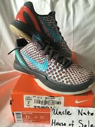 Nike Kobe 2011 Zoom Vi 6 As Andlsquoall Star 3d Hollywoodandrsquo Og Size 7ygs Ds