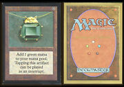 Magic The Gathering Mox Emerald _1468 Color Fade On Edges Collector's Edition T