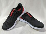 Nike Revolution 5 Black/anthracite/red Menand039s Running Shoes-asst Sizes X-wide 4e