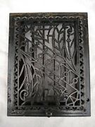 10.5 X 13.5 Cast Iron Floor Wall Register Heat Grate Vent Grille Louver