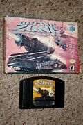 Battlezone Rise Of The Black Dogs Nintendo 64, 2000 With Box Good N64