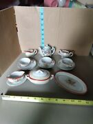 14pc Vintage Collectible Miniature Tea Set, Doll House, From Japan Locater7777