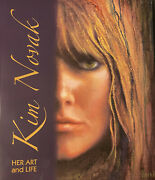 Kim Novak Sighed Autographed 1st. Edition Book Her Art And Life Bookplates