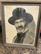 Gabby Hayes Photo Autographed By Gabby And Wife Annie. Very Old.