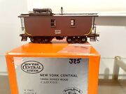 Precision O Scale Brass 2r Nyc New York Central 18000 Series Wood Caboose Nib