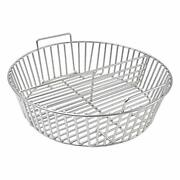 Stainless Steel Charcoal Ash Basket Fits For X-large Big Green Egg Ceramic Grill