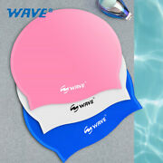 Silicone Men's And Women's Swimming Cap Waterproof Plus Size