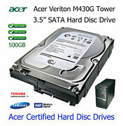 500gb Acer Veriton M421 3.5 Sata Hard Disc Drive Hdd Upgrade / Replacement