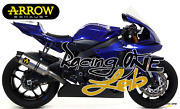 Full Exhaust System Arrow Competition For Yamaha Yzf R1 / R1m 17 21 Rc