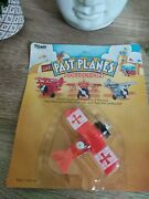 Tomy Vintage Toy Plane 1982 Wind Up Toy - Red Barron - New And Sealed In Pack