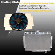 Fit 72-86 Jeep C/j Series For Chevy Engines Only 3 Row Kks Radiator + Fan Shroud