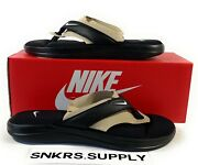 Nike Ultra Comfort 3 And039black Whiteand039 Womenand039s Thong Sandal Size 9-10 [ar4498-003]