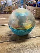 Vintage 1966 Fisher-price Roly Poly Chime Ball 165 Rolly Polly