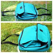 Pyrex Portables Travel Carrier Bag W/hold Cold Pack Teal-green 913 Size Cassero