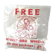 Vintage Frito-lay Whirly-bird Whistle Advertising Original Packaging