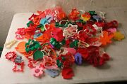 Vintage Mixed Lot Of 150 Plastic Cookie Cutters