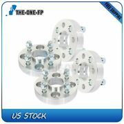 4x Hubcentric Wheel Spacers 4x100 1 Inch Fits Acura Integra Chevy Aveo Honda Fit