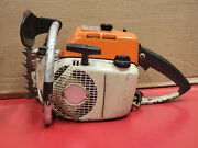 Early Stihl 041 Farmboss Vintage Collector Chainsaw Runs On Prime Cool Ws 637